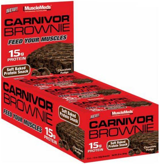 Протеиновый брауни Carnivor Brownie от MuscleMeds