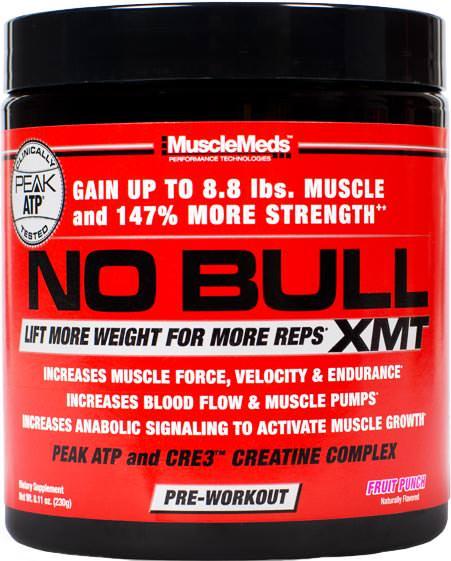 Предтренировочный комплекс NO Bull XMT от MuscleMeds