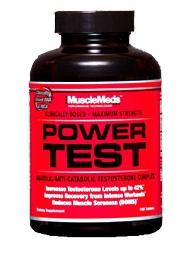 Тестостероновый бустер Power Test от MuscleMeds