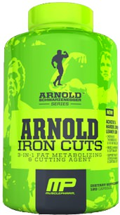 Жиросжигатель Arnold Iron Cuts от MusclePharm