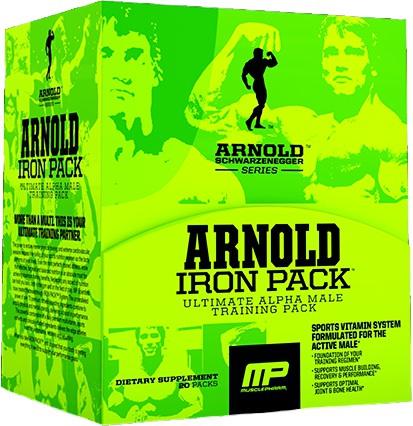 Витаминно-минеральный комплекс Arnold Iron Pack от MusclePharm