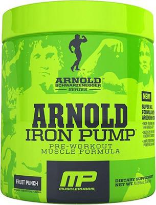 Предтренировочный комплекс Arnold Iron Pump от MusclePharm