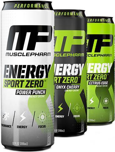 Энергетик Energy Sport Zero от MusclePharm