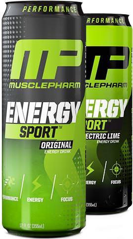 Энергетик Energy Sport от MusclePharm
