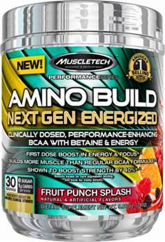 Аминокислоты Amino Build Next Gen Energized от Muscletech