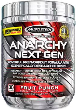 Предтренировочный комплекс Anarchy Next Gen Performance Series от MuscleTech