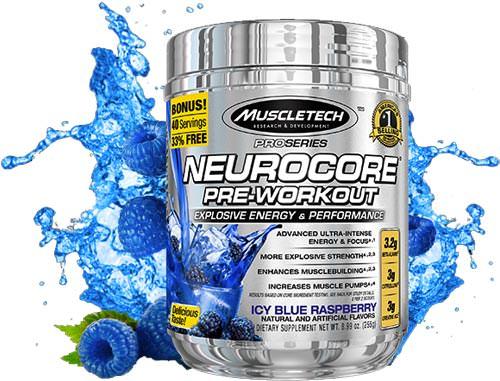 Предтренировочный комплекс Neurocore Pre-Workout Pro Series от MuscleTech