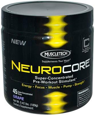 Предтренировочный комплекс NeuroCore от MuscleTech
