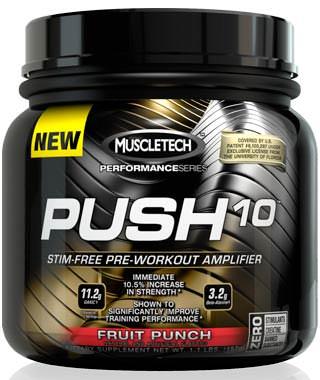 Предтренировочный комплекс Push 10 Performance Series от Muscle Tech
