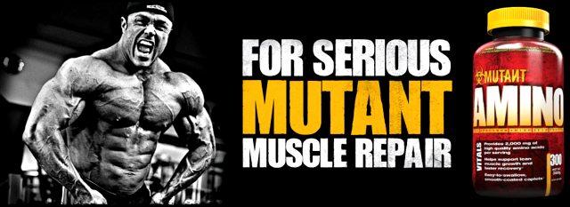 Mutant Amino - комплекс для серъезных бодибилдеров!