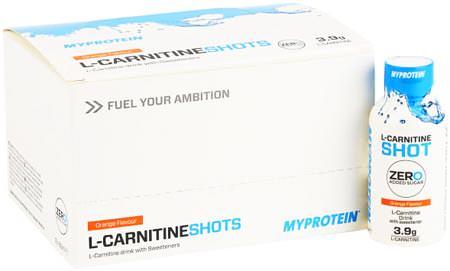 L-Carnitine Shots от Myprotein