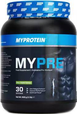 Предтренировочный комплекс MYPRE от Myprotein