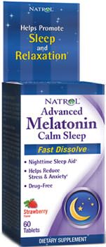 Мелатонин Advanced Melatonin Calmp Sleep от Natrol