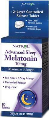 Мелатонин Advanced Sleep Melatonin от Natrol