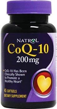 Коэнзим Q10 CoQ-10 200mg от Natrol
