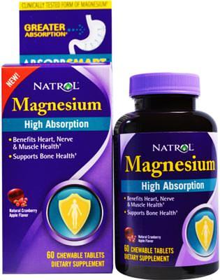 Магний High Absorption Magnesium от Natrol