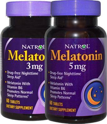 Мелатонин Natrol Melatonin