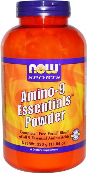 Аминокислотный комплекс Amino-9 Essentials Powder от NOW Sports