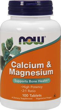 Минералы Calcium Magnesium от NOW