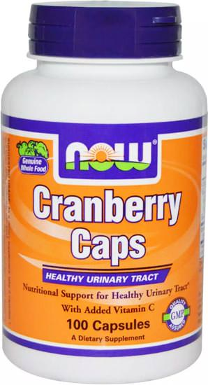 Антиоксиданты Cranberry Caps 700mg от NOW