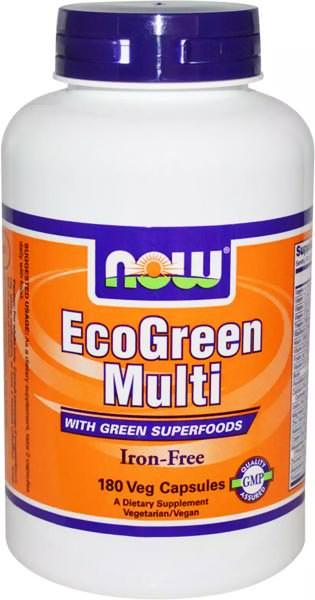 Витаминно-минеральный комплекс EcoGreen Multi от NOW