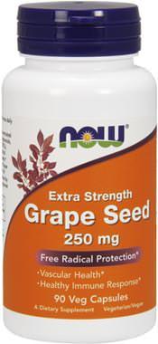 Экстракт виноградной косточки Grape Seed 250mg от NOW