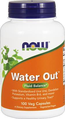 Диуретик на основе растительных экстрактов Water Out от NOW
