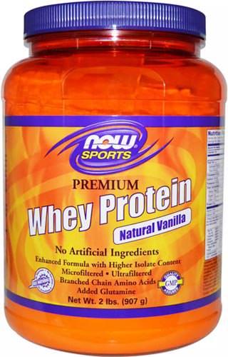 Сывороточный протеин Whey Protein от NOW Sports