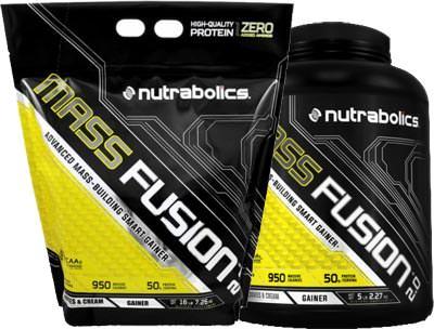 Высококалорийный гейнер Mass Fusion 2.0 от Nutrabolics