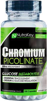 Пиколинат хрома Chromium Picolinate от NutraKey