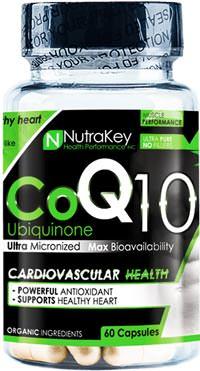 Коэнзим Q10 CoQ10 от NutraKey
