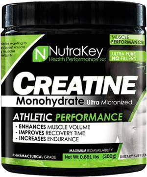 Креатин моногидрат Creatine Monohydrate Powder от NutraKey