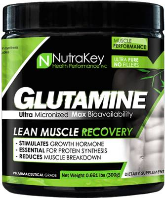 Глютамин Glutamine Powder от NutraKey