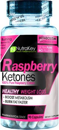 Кетоны малины Raspberry Ketones от NutraKey