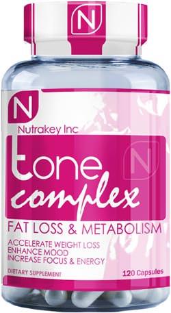 Жиросжигатель для женщин Tone Complex от NutraKey