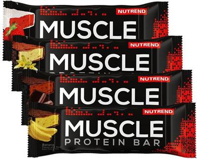 Протеиновые батончики Muscle Protein Bar от Nutrend