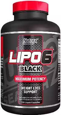 Жиросжигатель Lipo 6 Black Intl от Nutrex