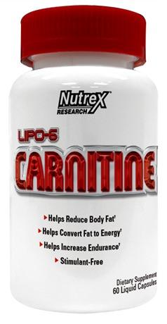 Карнитин Lipo-6 Carnitine от Nutrex