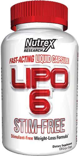 Жиросжигатель Lipo-6 Stim-Free от Nutrex