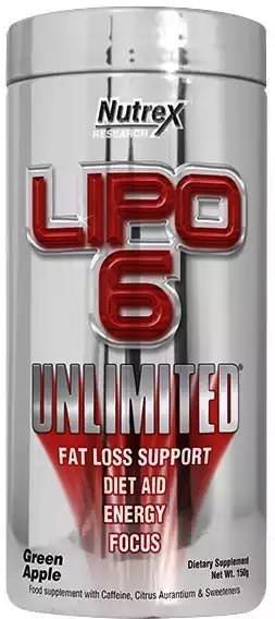 Жиросжигатель Lipo-6 Unlimited Powder от Nutrex