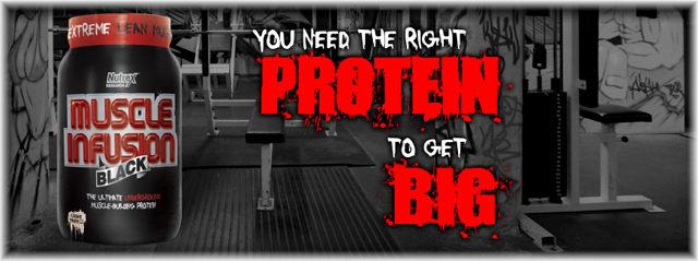 Nutrex Muscle Infusion Black - верный выбор протеина!