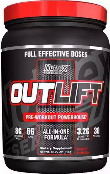 Предтренировочный комплекс Outlift от Nutrex