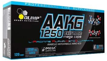 Аргинин альфа-кетоглютарат AAKG 1250 Extreme Mega Caps от Olimp
