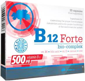 Витамины Б B12 Forte Bio-Complex от Olimp