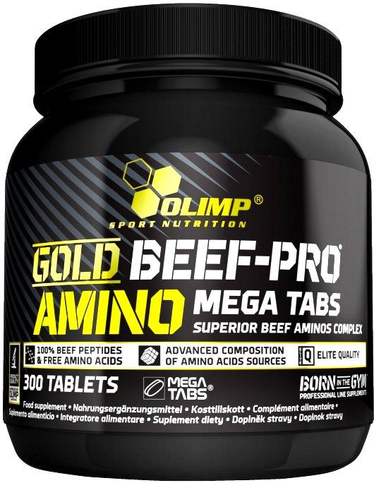 Аминокислотный комплекс Gold Beef-Pro Amino Mega Tabs от Olimp
