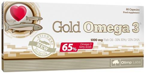 Желатиновые капсулы Olimp Gold Omega 3