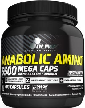 Комплексы аминокислот Gold Salmon 12000 Amino Mega Tab от Olimp