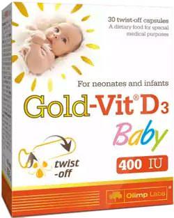 Витамин Д3 для детей Gold-Vit D3 Baby от Olimp