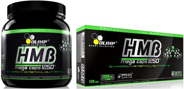 HMB Mega Caps от Olimp (упаковки 300 и 120 капсул)