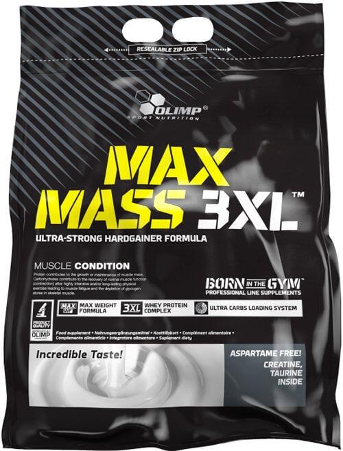 Высококалориййный гейнер Max Mass 3XL от Olimp